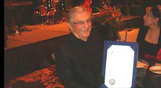 Honoree Bill Boyd with Proclamation
