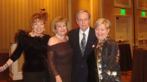 Mikey and James Bilbray (center) Shannon Bilbray Axelrod(left) Harriet Trudell (right)